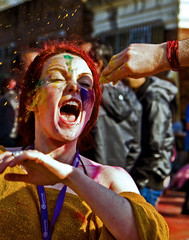 Spladosh! (rob of rochdale) Tags: party festival manchester happy spring colours northwest celebration hindu holi