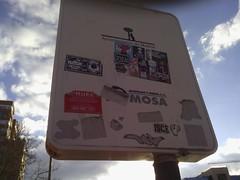 WOLF STREET ARTIST COMBO (WOLF 100%-ISCE  http://wolfstickershop.blogspot.) Tags: street art wolf combos isce