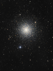 Globular Star Cluster M3 (Oleg Bryzgalov) Tags: m3 deepspace astrophoto Astrometrydotnet:status=solved astro:subject=m3 competition:astrophoto=2013 Astrometrydotnet:id=alpha20130482576559 astro:gmt=20130412t0146astrometrydotnetversion14400