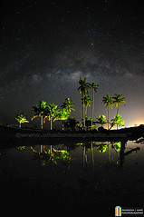 Under The Stars (shahreen | amri) Tags: road city trees light sky abstract black glitter night dark way stars star evening solar heaven glow shine natural bright background space horizon alien wave science calm astro system sparkle stellar galaxy photograph nebula astrophotography observe tiny astronomy outer northern universe exploration milky cosmic starry cosmos constellation milkyway starlight starfield