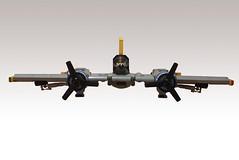 T-68 Banshee (JonHall18) Tags: plane fighter lego aircraft fantasy ww2 moc skyfi dieselpunk dieselpulp