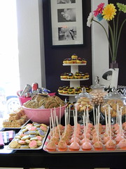 Midtown Sacramento Progressive Dinner Party - Dessert at Identity Boutique (amy is the party) Tags: cookies cupcakes midtown sacramento candybar dessertbuffet dessertbar cakepops identityboutique