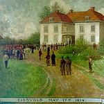 "<b>Eidsvold May 17, 1814</b><br/> Biorn, #200, Oil, Painting<a href=""http://farm9.static.flickr.com/8541/8652930260_cdbdc0fdd7_o.jpg"" title=""High res"">∝</a>"