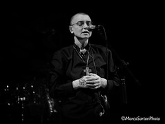 Portrait of Sinead o' Connor. (MarcoSartoriPhoto) Tags: portrait blackandwhite bw monochrome olympus explore sinead sineadoconnor omd blackwhitephotos marcosartori zuiko75mm mymaco marcosartoriphoto