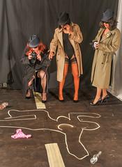 Inspector Kacey & Her Team! (kaceycd) Tags: stockings pumps highheels tgirl bodysuit stilettoheels pantyhose crossdress nylon spandex tg leotard stilettos nylons garterbelt garters suspenderbelt ffstockings sexypumps stilettopumps rhtstockings