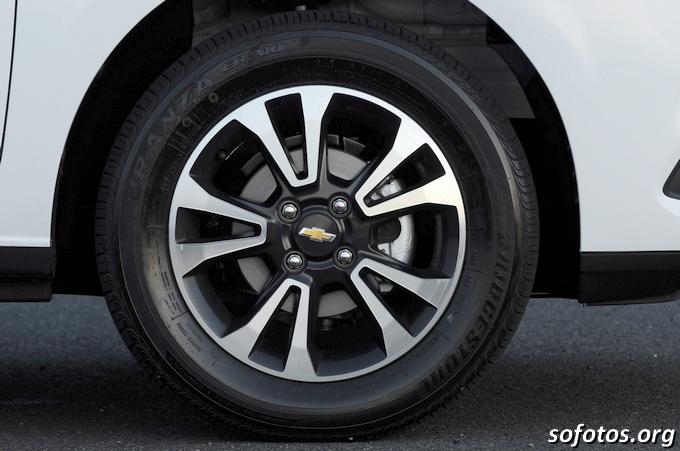 Roda do Chevrolet Onix LTZ