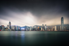 Storm over Hongkong (: : T O N I : :) Tags: china city travel light sea vacation sky urban holiday abstract building tower tourism glass beautiful beauty skyline architecture modern skyscraper port landscape asian hongkong harbor pier office colorful asia downtown ship cityscape view harbour background chinese peak scene victoria hong kong business busy metropolis tall economy finance