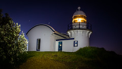 Tacking Point Lighthouse (Kalahari kid) Tags: longexposure lighthouse lightpainting portmacquarie tackingpoint