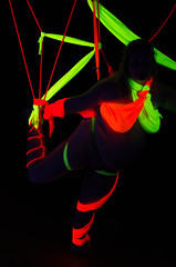 20130427-LRC82303.jpg (ellarsee) Tags: suspension bondage blacklight scarves