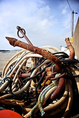 Ahoy!! (Andrew-Chiz) Tags: ireland fishing harbour anchor ropes donegal ahoy rosbeg