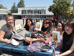 World Book Night Book Recipients @ Tennyson High School - April 23, 2013 - Hayward, California - 5684 (Hayward Public Library) Tags: california reading libraries books literacy thelanguageofflowers cityofhayward 94541 haywardpubliclibrary vanessadiffenbaugh worldbooknight2013