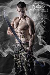 Arquero (Miguel J.R.) Tags: male portraits retratos arco hombre masculinos arquero