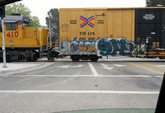 SW (Peanut Gallery76) Tags: train graffiti sw freight wkt swerv amck