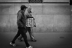 The Street Photography Journal (Julien NGUYEN-KIM) Tags: voyage street city travel people blackandwhite bw paris france digital 35mm blackwhite noiretblanc candid streetphotography documentary x10 fujix10 photographersontumblr