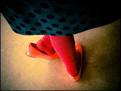 20130430-2 (sulamith.sallmann) Tags: pink red people berlin rot girl kids children rouge deutschland person shoe shoes child legs leg bein kinder menschen kind schuhe deu mdchen beine schuh personen mensch strumpfhose mdel sulamithsallmann plastikschuhe