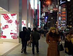 Uniqlo (Simone Maroncelli) Tags: japan tokyo shinjuku bladerunner pentax giappone cyberpunk k5 pentaxart simonemaroncelli