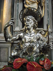 """Silver statue of Saint John the Baptist"" by Lorenzo Vaccaro (1695) - Treasure of Saint January Chapel in Naples (* Karl *) Tags: italy napoli naples icapture silverstatue"