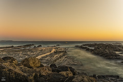 Coastal Dawn (banphotography) Tags: ocean sea sunrise fishing rocks surf daybreak headland surfersparadise snapperrocks rainbowbay burleighheads