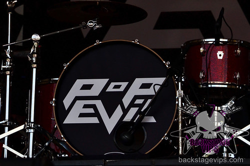 Pop Evil Drum Head