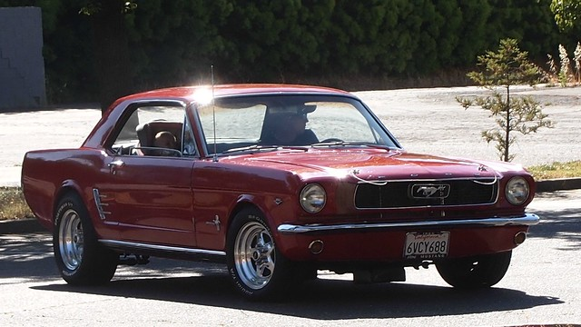 1966 Ford Mustang Coupe (Custpm) 6ACY688 1