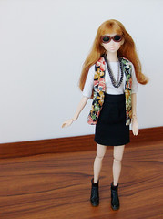 Festival ready ^^ (squish.tish) Tags: fashion doll skirt clothes fashiondoll sekiguchi momoko petworks dollydot squishtish