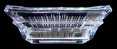 Transparent synthesizer, by Daft Punk (angeldominguez) Tags: music keyboard punk random album memories synth instrument access transparent inverted daft synthesizer