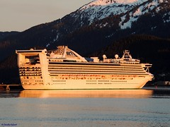 Golden Princess (B737Seattle) Tags: cruise water alaska golden boat nikon ship princess vessel juneau ms coolpix luxury channel cruises liner gastineau p510