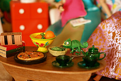 you'll turn even greener pascal! (girl enchanted) Tags: disney pixar pascal mattel tangled rapunzeldoll