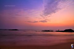 summer set (Gulfu) Tags: life sunset sea india man love water rock canon evening fishing lowlight alone colours kerala tokina 7d 1224 kannur gulfuphotography flickrandroidapp:filter=none prasanthgulfu