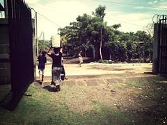 Carrying water (wayerson) Tags: missionary nicaragua managua missions sandino lifelink ciudada lifelinkministrybase uploaded:by=flickrmobile flickriosapp:filter=mammoth mammothfilter wayneandmegan