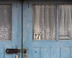 Blue (Nellies78) Tags: door blue blauw shed 27 babyblue schuur babyblauw eigenweg