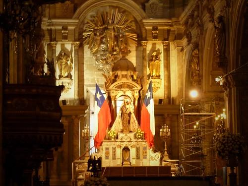 Cathédrale, Plaza de Armas, Santiago, Chili