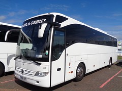 BF16XRO Travel de Courcey in Blackpool (j.a.sanderson) Tags: bf16xro traveldecourcey blackpool mike de courcey travel coventry fleet number 81 merceds benz tourismo registered new april 2016 landtourer fareham decourcey coach coaches