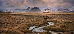 Icelandic Cottage (Ray Jennings AU) Tags: iceland cottage stream mountains rayjennings