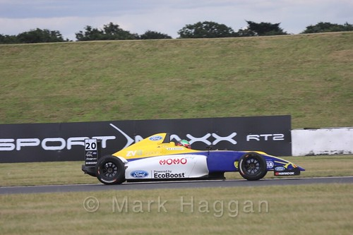 Alexandra Mohnhaupt in British Formula 4 during the BTCC 2016 Weekend at Snetterton