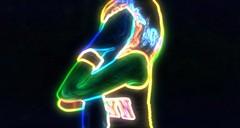 (Mango*Photography) Tags: giulia bergonzoni photography photographer model neon unusual unconventional fashion advertising light legs stars contemporary evocative conceptual art