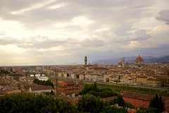 Florence Dusk (cookedphotos) Tags: canon 5dmarkii travel italy florence firenze cityscape sky clouds piazzale michelangelo duomo
