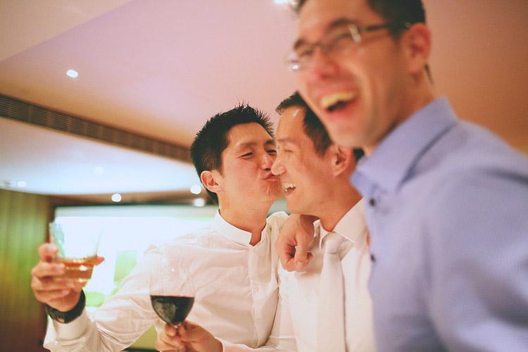 婚禮攝影-親新郎