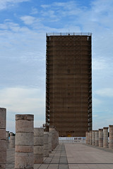 Hassan Tower (6) (PhillMono) Tags: nikon dslr history heritage ruin relic abandoned empty emptiness art architecture travel tourist hassan tower mosque rabat morocco pillar column
