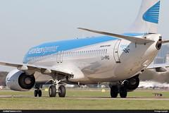LV-FRQ - Aerolineas Argentinas (ChristianMD89) Tags: boeing boeing737ng boeing737800 aerolineasargentinas aeroparque buenosaires argentina lvfrq 737 738 spotting aviation airframe aircraft aviacin
