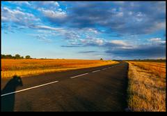 160723-9931-XM1.jpg (hopeless128) Tags: self france road shadiow sky eurotrip 2016 me fileds clouds saintangeau aquitainelimousinpoitoucharen aquitainelimousinpoitoucharentes fr