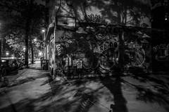 Montreal Graffiti (Pierre-Luc G.) Tags: fuji fujixt10 mirrorlesscamera montreal plateaumontroyal plateaumtroyal plateau nightshot nightlights