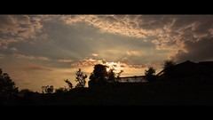 Sunset before the full Moon (Lux Obscura) Tags: sunset full moon spider swallow 14bit raw dng video timelapse magic lantern flare nature glitch anamorphic 1235 cinemascope nehoryn music