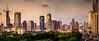 golden light (Rob-Shanghai) Tags: cityscape shanghai china puxi light golden leica m240 pano colour towers skyscraper park modernchina