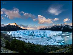 Maravilloso Glaciar Perito Moreno-Pano