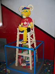 OH Bellaire - Toy & Plastic Brick Museum 159 (scottamus) Tags: bellaire ohio belmontcounty toyplasticbrickmuseum lego sculpture display statue exhibit roadsideattraction