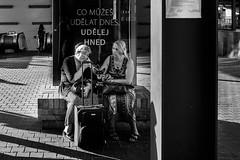 two (rdk740) Tags: street streetphoto streetphotography blackwhite blackwhitephotography city urban czech cz czphoto people monochrom fujifilm fuji xe2