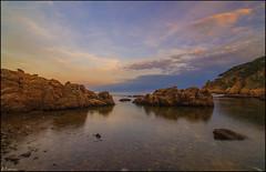 En el punto de fuga. (antoniocamero21) Tags: paisaje marina mar color foto sony aiguaxelida brava costa begur girona catalunya