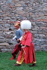 Szulejmn szultn s egy janicsr (Pter_kekora.blogspot.com) Tags: kszeg 1532 ostrom magyaroroszg trtnelem hbor ottomanwars 16thcentury history siege castle battlereenactment hungary 2016 august summer