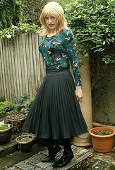 Really Liked (Amber :-)) Tags: charcoal sunray midi skirt tgirl transvestite crossdressing